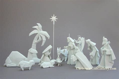 origami baby jesus nativity sets