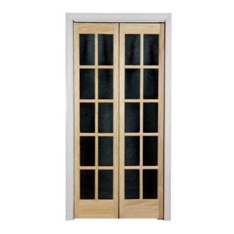 40 inch bifold closet doors pinecroft 36 in x 80 in classic glass wood
