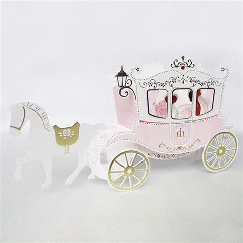 origami carriage series fantastic wedding carriage handmade