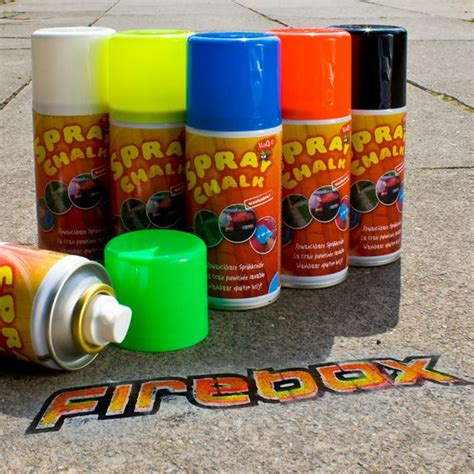 chalk paint en spray spray chalk washable supply for conscientious taggers