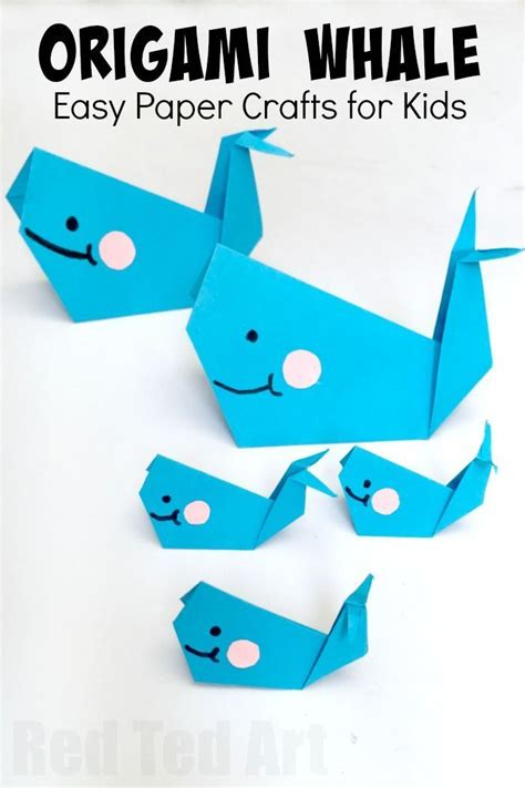 origami for 6 year olds 25 best ideas about whale crafts on big blue