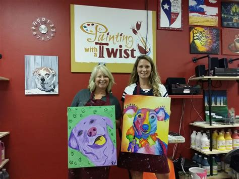 paint with a twist friendswood another exle of how you can creatively approach your