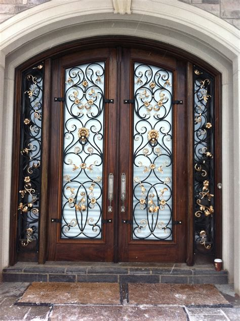 iron front doors for homes why choose wrought iron doors for their home
