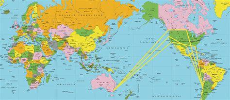 southern hemisphere flight routes southern hemisphere