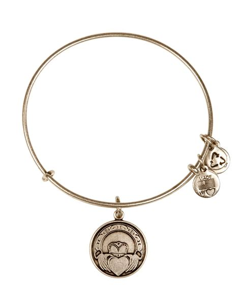 alex and ani alex and ani claddagh bangle in silver russian silver lyst
