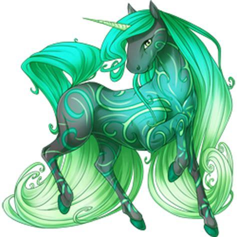 Image - Emerald Wind Unicorn V2.png - Valley of Unicorns ...