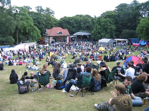festival in clarence park festival