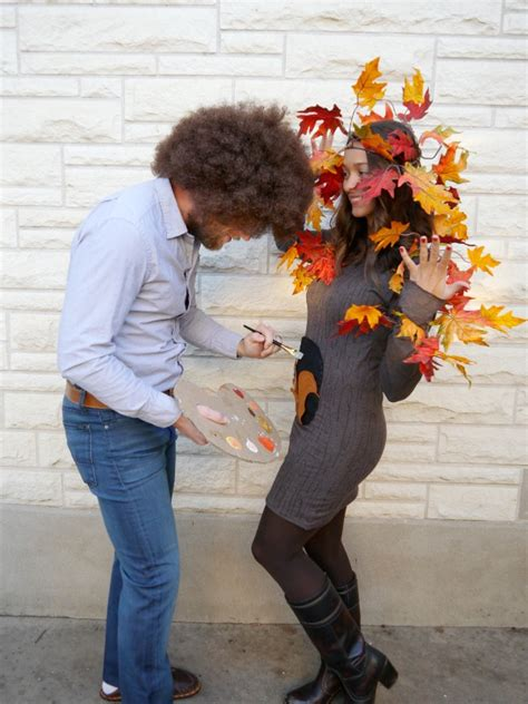 bob ross painting tree tunic dress diy dorobek family costume 2013 c r a f t