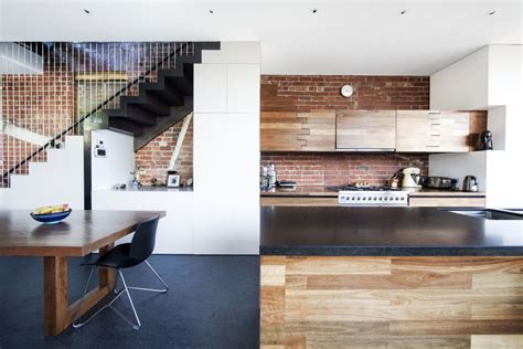 kitchen island dining table warehouse conversion in