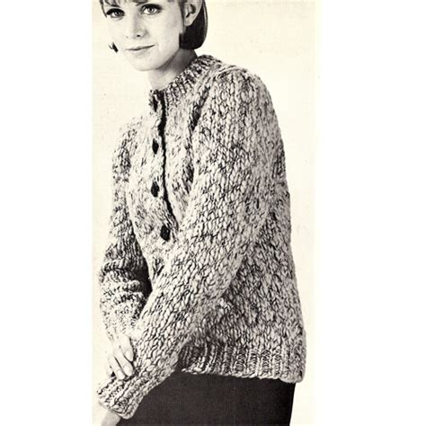 simple knitted cardigan pattern easy scandia knit cardigan pattern for misses