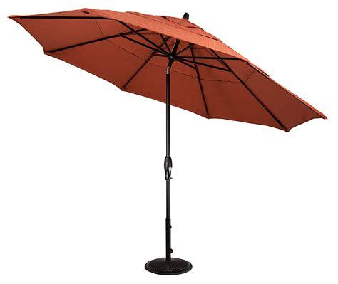 11 patio market umbrella with tilt 11 auto tilt octagon market umbrella