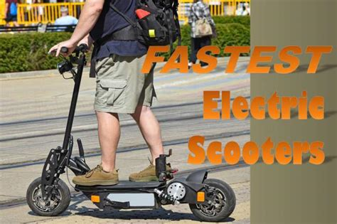 Fastest Electric Motor by Whooosh The 5 Fastest Electric Scooters Of 2018