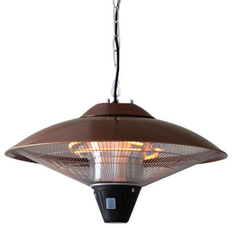 sense hanging halogen patio heater sense 60660 hanging copper finish halogen patio