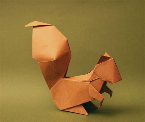 squirrel origami squirrel origami and on this board we squirrel
