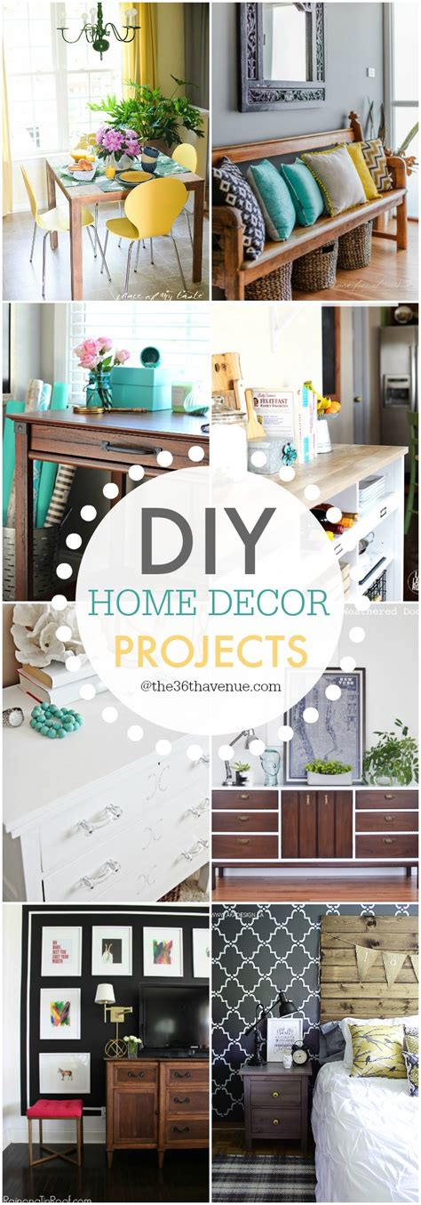 diy home decor project ideas the 36th avenue diy home decor projects and ideas the