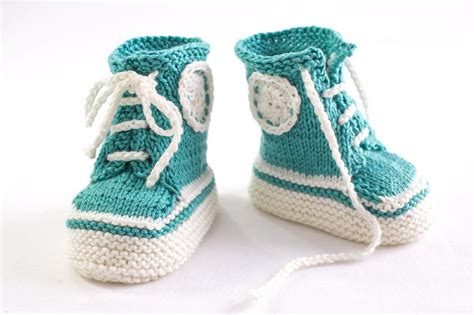 knitted sneakers pattern sneaker booties knitting pattern by heaventoseven