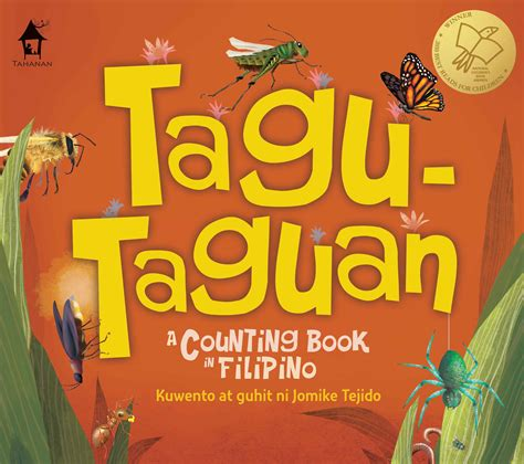 books for tagu taguana counting book in tahanan books