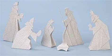 nativity origami beginner s origami for projects and paper