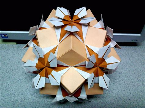 flor origami estrella flor origami at different angle by