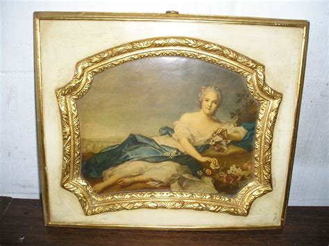 decoupage pictures for sale chalkware decoupage mencarini bros tag sale
