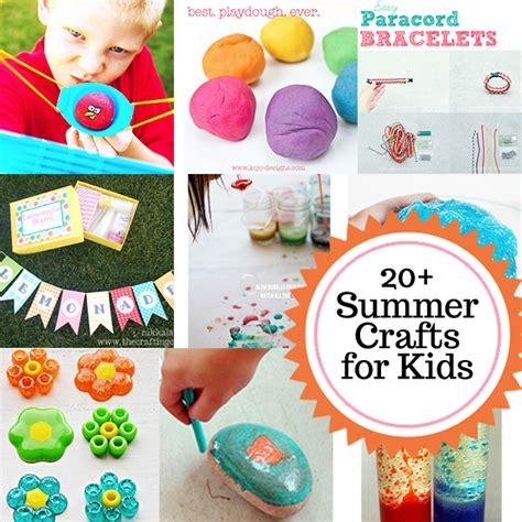 crafts for summer summer projects for crafts