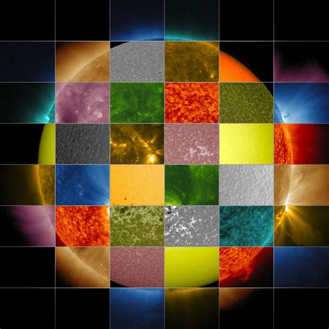 spot the different color sun primer why nasa scientists observe the sun in