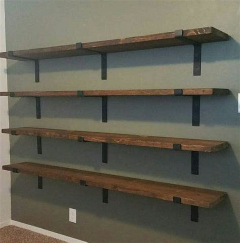 metal brackets for shelves the 25 best shelf brackets ideas on diy wood