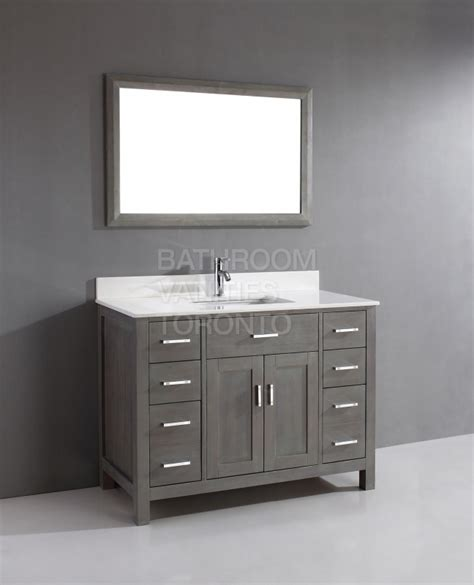 gray bathroom vanities kl48sb grey