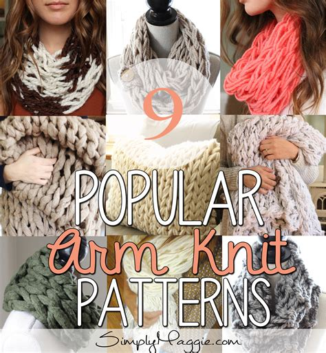 arm knitting projects 9 popular arm knit patterns simplymaggie