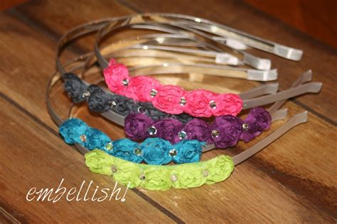 unique craft ideas for handmade high end headbands for children and adults