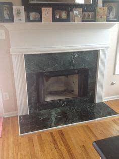 chalk paint fireplace tile 1000 images about diy fireplace makeover sloans
