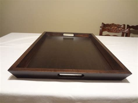 large serving tray ottoman custom ottoman serving tray 19 x 27 choose your