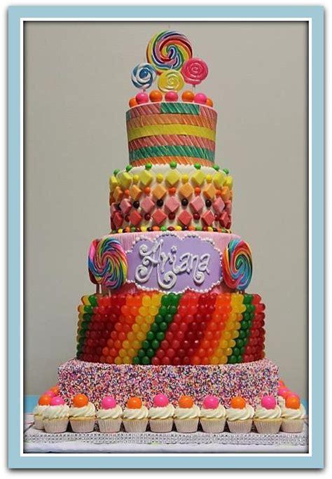 decoracion de golosinas tortas de cumplea 241 os decoradas con golosinas tortas