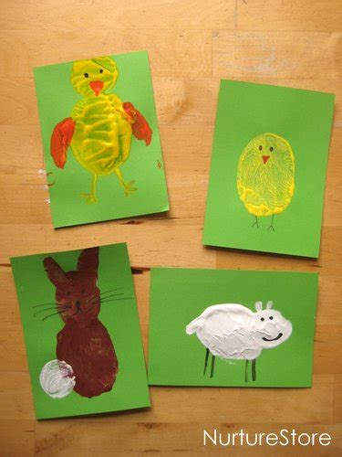 cards with toddlers craft activities for children easter potato printing