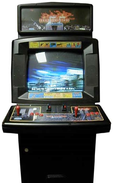 The Cabinet Doctor by Die Hard Arcade Videogame By Sega