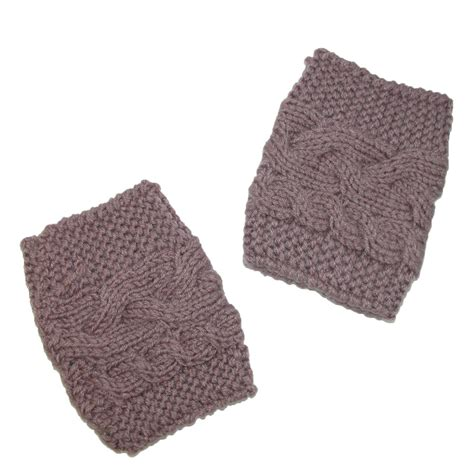 knit boot toppers womens cable knit boot cuff topper by ctm beltoutlet