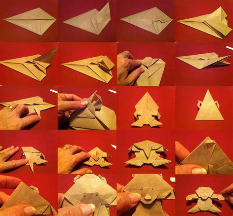 origami teddy 186 teddy setting the crease