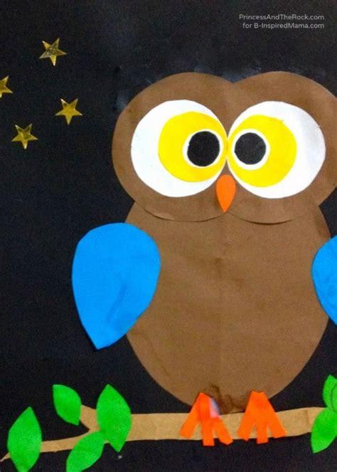 owl crafts for diy birds craft 24 easy paper owl craft ideas for