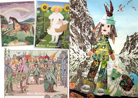 collage illustrations in picture books journal inspiration from children s books