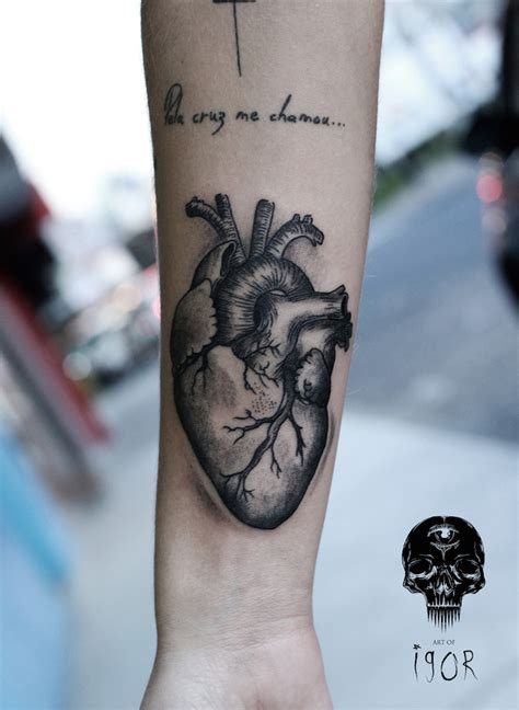 arm anatomical heart yeahtattoos com
