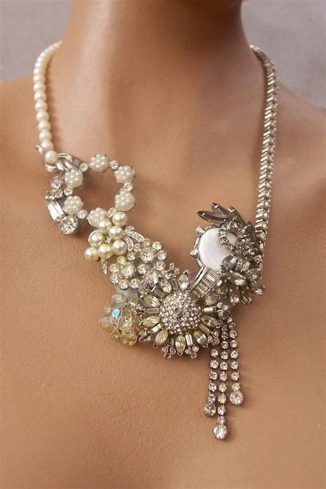 from jewelry recycled vintage jewelry inspiration diy inspired