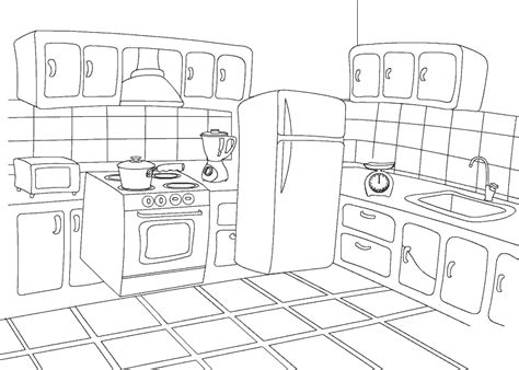 Childrens Kitchen Knives coloring pages kitchen only coloring pages