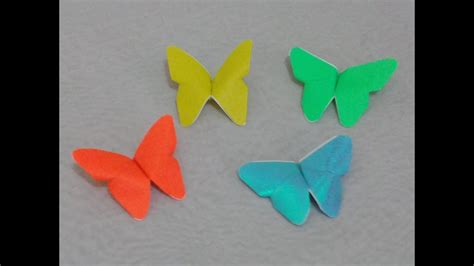 origami simple butterfly easy origami butterfly