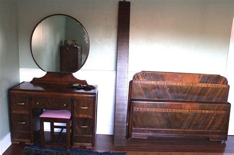 vintage bedroom furniture 1950s antique 1950s waterfall bedroom set courtenay courtenay