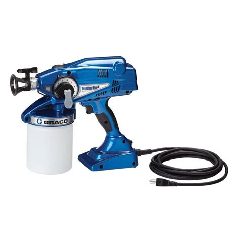 home depot pro paint sprayer rental graco truecoat pro ii airless paint sprayer 16n673 the
