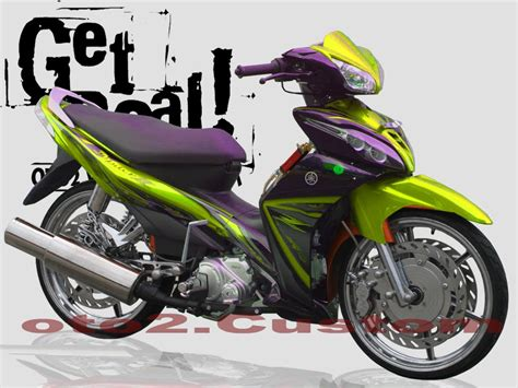 Modifikasi Motor Jupiter Z by Yamaha Jupiter Z Modifikasi Modifikasi Mobil Motor