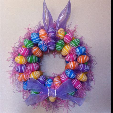 wreaths crafts projects my easter wreath crafts
