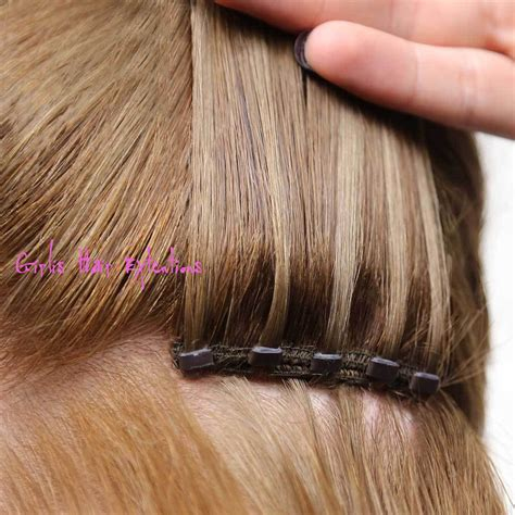 beaded weft hair extensions micro beaded weft hair extensions hair salon
