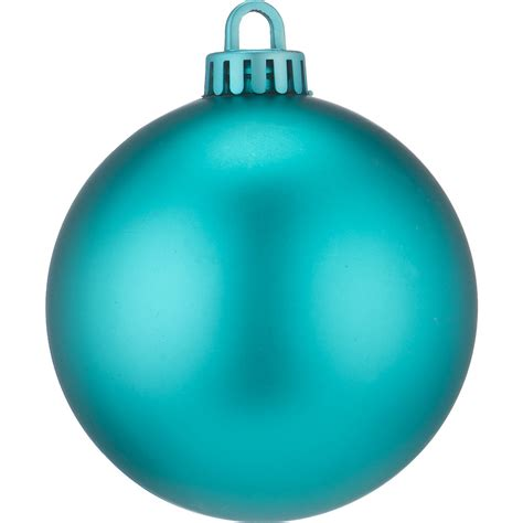 turquoise baubles 250mm matt baubles turquoise dzd