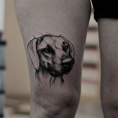 48 lovely dog tattoo designs to celebrate man s best